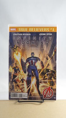 True Believers Infinity Incoming #1 Reprinting Avengers (2012) #1 Marvel Comics