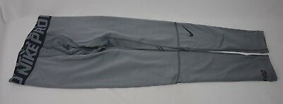 6738cd3ed2 Nike Compression Pro Warm Tights Grey Men's Size S-XXL New with Tags 659806  065