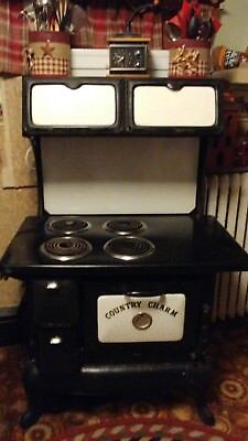country charm Electric Cook Stove Cookstove