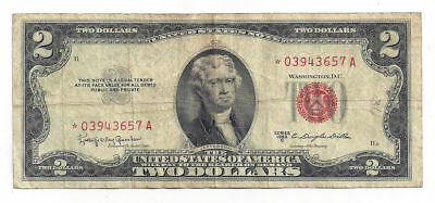 1953 C United States of America $2 United States Star Note *03943657A