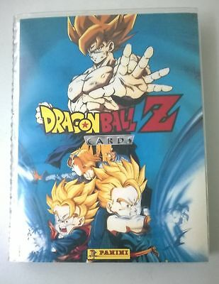 Classeur de 364 cartes dragon ball z