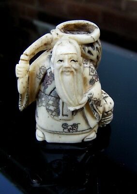 Carved Bone Netsuke