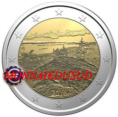 2 Euro Commémorative Finlande 2018 - Parc National Mont Koli