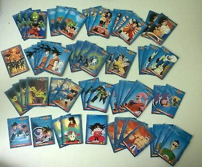 Lot de 300 cartes dragon ball z anthologie (régular et prism)