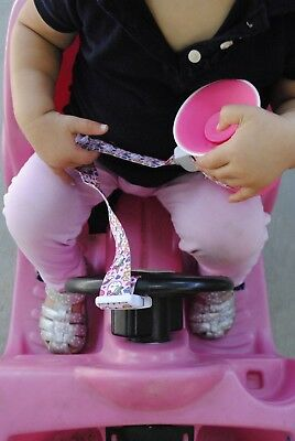 (2 Pack) LulliLoop Sippy Cup, Bottle, & Toy Holder/Strap/Tether/Leash