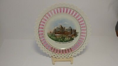 Reticulated Plate Featuring The Parliament Buildings Toronto Design Germany