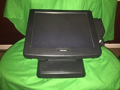 POS ~Posiflex KS-6215Z Touchscreen with Card Reader & Thumprint I.D.