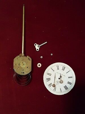 Vintage Horolovar Flying Ball Clock Movement & Parts (West Germany Jerome & Co)