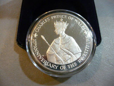 1979 Jamaica $25 Silver Proof Coin Investiture of Prince Charles -FREE SHIPPING
