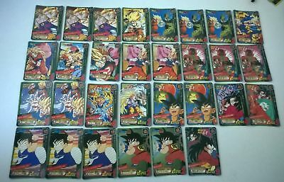 Lot de 30 cartes dragon ball z Power level ?
