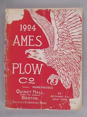 Ames Plow CATALOG - 1904 ~~ farming, farm, agriculture implements