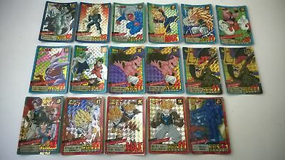 Lot de 17 cartes dragon ball z super battle