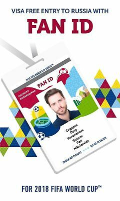Fan ID for FIFA World Cup 2018 Russia - No visa and super cheap!! Last ones!!