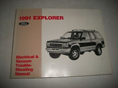 1991 Ford  Explorer  Truck Electrical Evtm Troubleshooting Manual