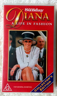 DIANA - A Life in Fashion - Sunday Herald Sun VHS - Collector's edition, 1997