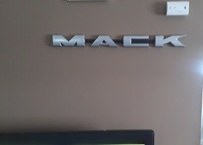"""Mack Truck ..30"""" X  2 3/4"""" LONG.Truck Front.Wall.Large."""