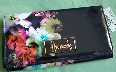 HARRODS Floral Collection Long Wallet Brand New with Tag