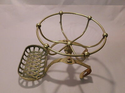 Brass Claw Foot Bath Tub Brass Soap Dish Holder