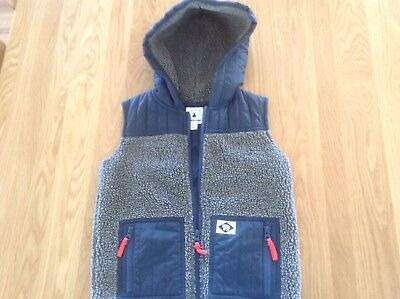 COUNTRY ROAD Boys Quilted Vest Size 6-7 | EC