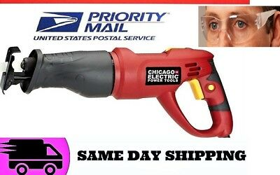 6 Amp 120V  RECIPROCATING SAW WITH ROTATING HANDLE SAME DAY SHIPPING 3 DAY DEL.