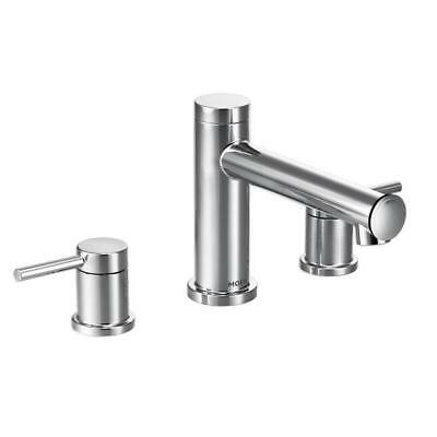 Moen Align 2 Handle Deck Mount Roman Tub Faucet Trim Kit Chrome