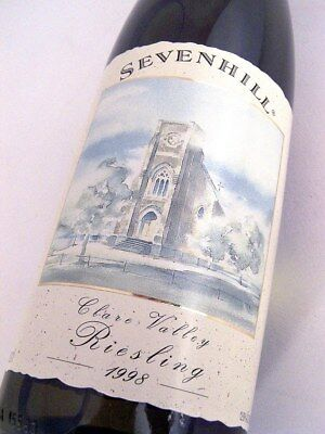 1998 SEVENHILLS Cellars Clare Valley Riesling A ISLE OF WINE