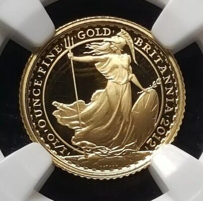 2012 Great Britain proof Britannia 1/10 oz gold  NGC PF69 Max mintage: 2,250