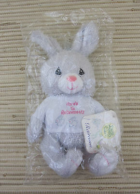 "Precious Moments ""Hare's To Retirement"" Rabbit Bean Bag Plush (Enesco, 2001)*New"