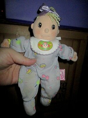 """ZAPF CREATION +/- 19cm SOFT DOLL """"BESSIE"""" - GREAT CONDITION WITH TAG"""