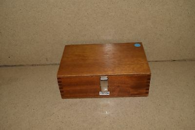 """++ Hilger & Watts Case 8 1/4"""" X 5"""" Approx Dimensions (#2)"""