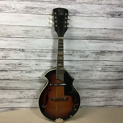"""Vintage KAY Small Electric Guitar  27"""" Long  Original Case  Untested"""