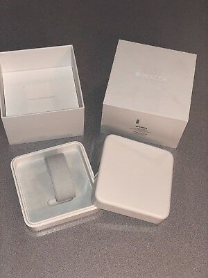 Apple Watch 42mm, SS white, BOX ONLY