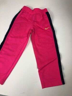 Nike Girls Track Pants Hot Pink Size 4 Youth