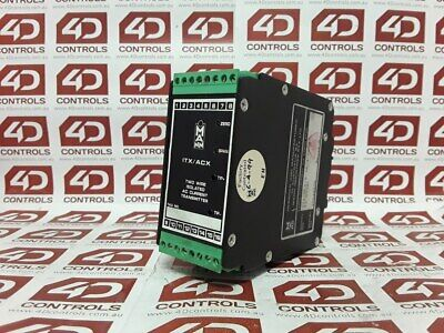 Mann Industries ITX/ACX/0-5A/4-20mA/12-45Vdc Current Converter - Used