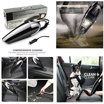 12V 120W Wet Dry Strong Suction Vacuum Cleaner Portable Hand Held For Car Home