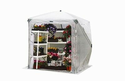 FlowerHouse Pop Up Greenhouse OrchidHouse Collapsible 7 x 7 Outdoor Garden New