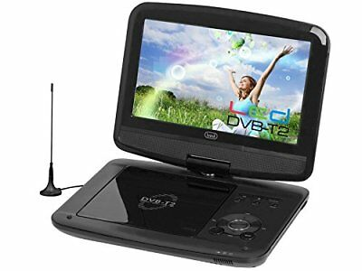 Trevi DVBX 1413 T Tragbarer DVD-Player mit DVB-T2-TV-Dekoder, Display: 9 Zoll