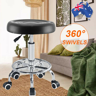New Salon Stool Hairdressing Chair PU Barber Equipment Beauty Swivel Lift AU