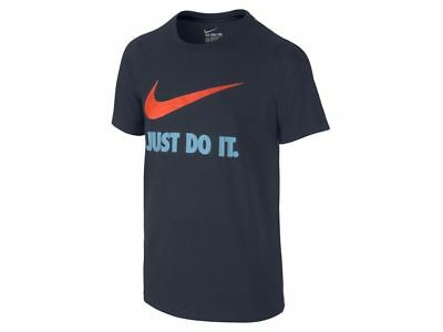 Nike Just Do It Swoosh Crew Kinder T-Shirt Tee Top 709952-454