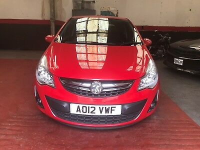 2012 vauxhall corsa 1.2 active a/c manual 1 owner f/s/h very clean