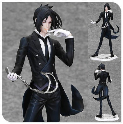 Anime Black Butler Kuroshitsuji Ciel Demon Sebastian Michaelis Figure Models Toy
