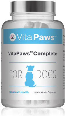Complete For Dogs By VitaPaws™ 180 Sprinkle Capsules | Multi-Nutrient supplement