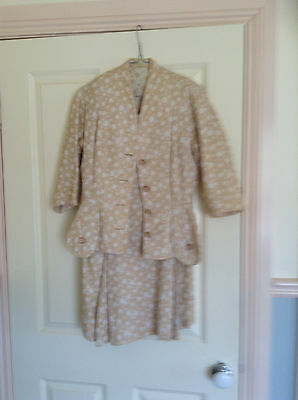1940s womens suit vintage skirt jacket
