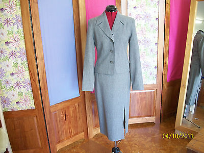 vintage style 1950's womens suit skirt jacket