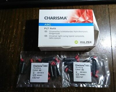 Charisma ABC PLT Refills COLOUR A2 20X 0.2G NEW SEALED