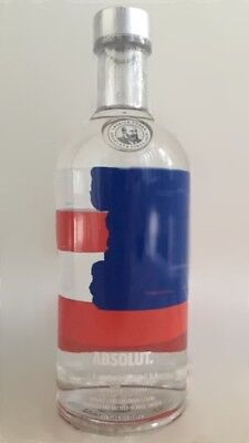 Absolut Vodka we are all United USA full 700ml 40%Vol. limited edition bottle