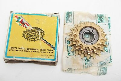 NOS Regina Oro 5 speed freewheel 14-20 NIB with original box