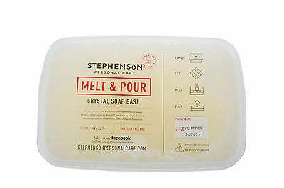 Palm, SLS/SLES Free Melt and Pour Soap Base 1kg-12kg Stephensons Cosmetic Making