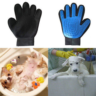 Hot Pet Dog Grooming Cleaning Magic Glove Hair For Dirt Remover Brush Deshed New