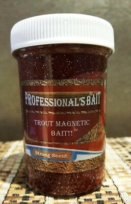 Trout Magnetic Bait, Professional's Bait, Redfin, Yellow Belly, Cod, Perch etc